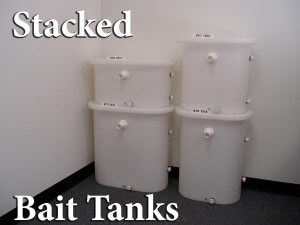 Stacked Bait Tank